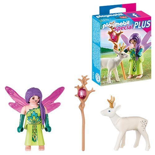 Playmobil 5370 Special Plus Fairy with Deer Action Figure