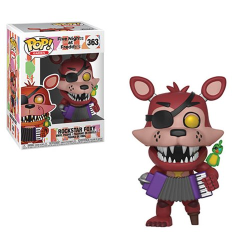 Five Nights at Freddy's: Pizza Simulator Rockstar Foxy Pop! Vinyl Figure #363