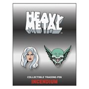 Heavy Metal Movie Set A Lapel Pin 2-Pack