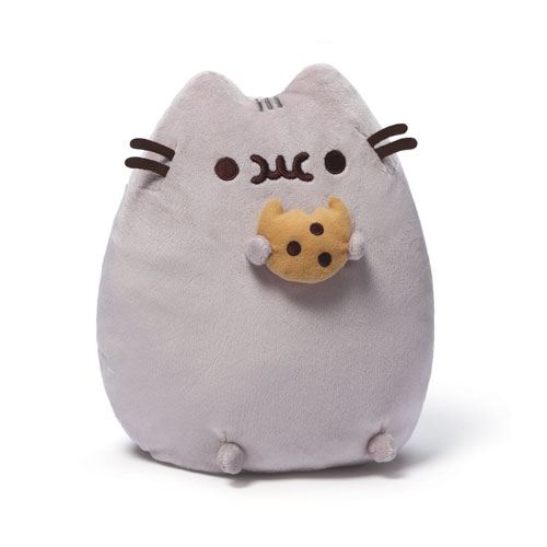 Pusheen the Cat with Cookie Plush