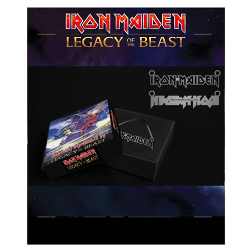 Iron Maiden Legacy of the Beast Emblem Necklace
