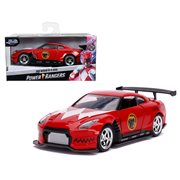 Mighty Morphin Power Rangers Red Ranger 2009 Nissan GT-R 1:32 Scale Die-Cast Metal Vehicle