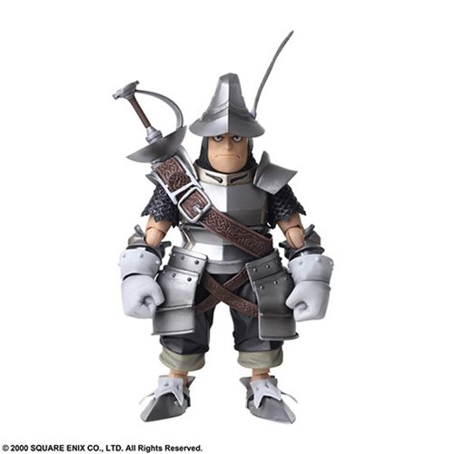 Final Fantasy IX Vivi Ornitier and Adelbert Steiner Bring Arts 2-Pack Action Figures