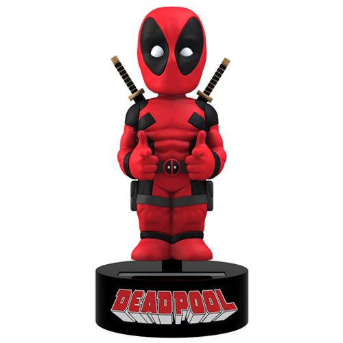 Deadpool Body Knocker Bobble Head