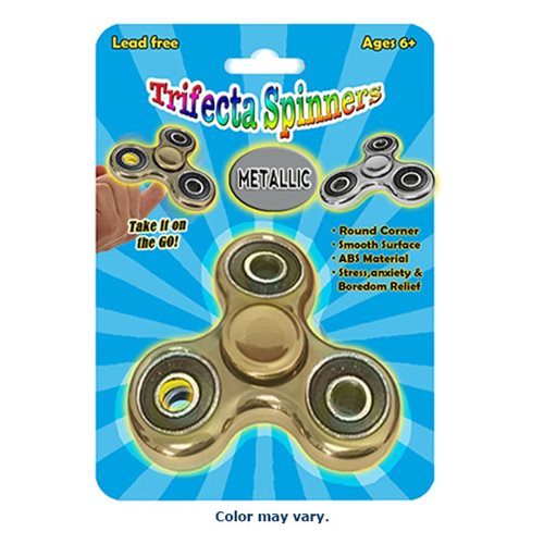 Trifecta Spinners Metallic Random Spinner