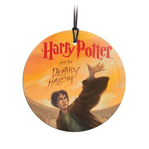Harry Potter The Deathly Hallows StarFire Prints Hanging Glass Ornament