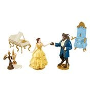 Beauty and the Beast Live Action Enchanted Figure Set