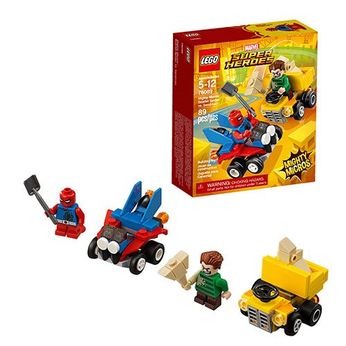 LEGO Marvel 76089 Mighty Micros Scarlet Spider vs. Sandman ...