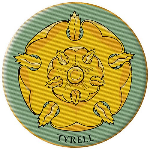 Game of Thrones House of Tyrell Embroidered Patch