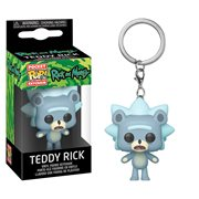 Rick and Morty Teddy Rick Pocket Pop! Key Chain