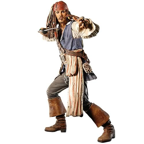 Pirates 3 Jack Sparrow 18-Inch Talking Action Figure