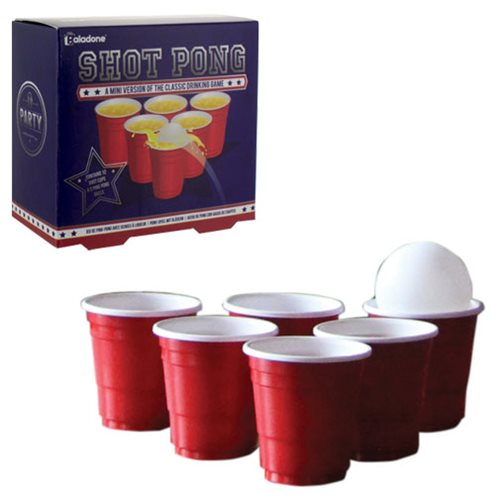 Shot Pong Party Game