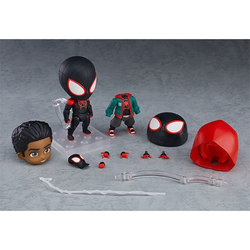 Spider-Man: Into the Spider-Verse Miles Morales DX Version Nendoroid Action Figure
