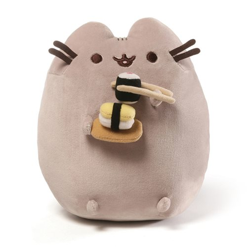 Pusheen the Cat Sushi Snackable 9 1/2-Inch Plush