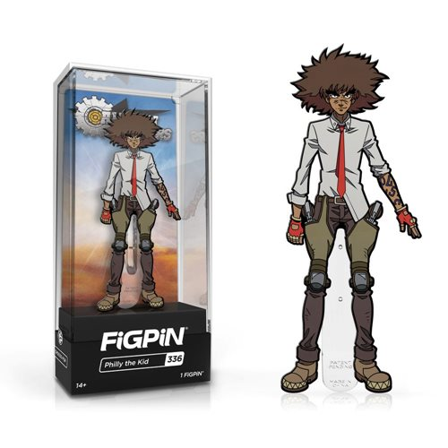 Cannon Busters Philly the Kid FiGPiN Enamel Pin