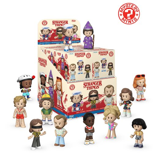 Stranger Things Season 3 Mystery Minis Random 4-Pack