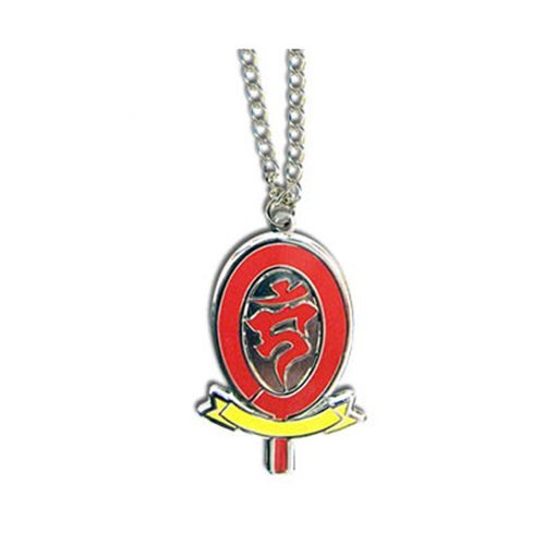 Blue Exorcist Academy Badge Necklace