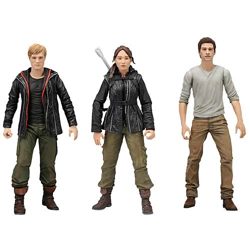Hunger Games 7-Inch Scale Action Figures Case