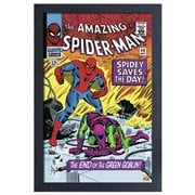 The Amazing Spider-Man #40 Comic Cover Framed Art Print