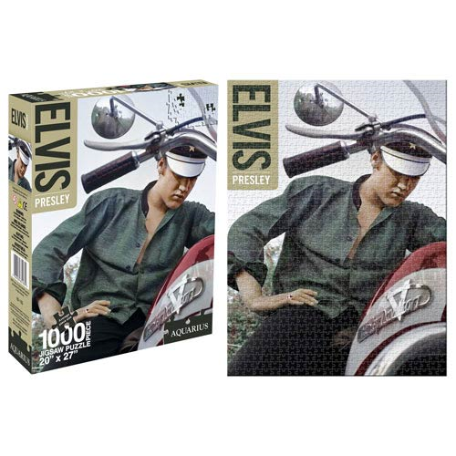 Elvis Presley Color Bike 1,000-Piece Puzzle