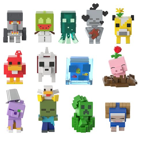Minecraft Mini-Figure Blind Box Wave 19 Case