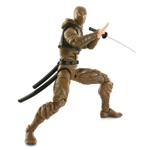 Articulated Icons Brown Basic Ninja 6-Inch Action Figure