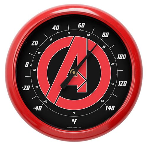 Avengers Logo 10-Inch Thermometer