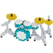 Drum Set Instrument Nanoblock Constructible Figure