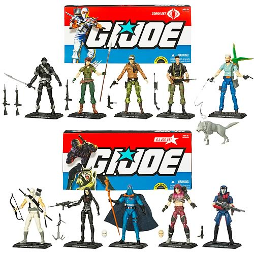 G.I. Joe Action Figure Collector 5-Pack Wave 1 Set