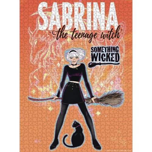 Sabrina The Teenage Witch 1000 Piece Puzzle