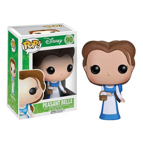 Beauty and the Beast Peasant Belle Pop! Figure, Not Mint