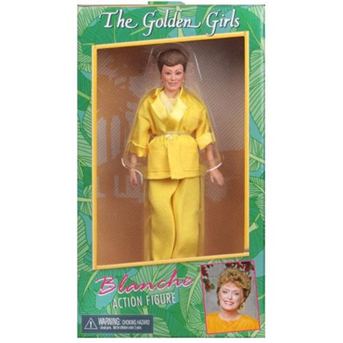 Golden Girls Blanche Devereaux 8-Inch Clothed Action Figure