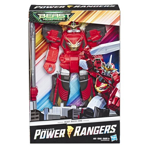 Power Rangers Megazord Action Figures Wave 2 Case