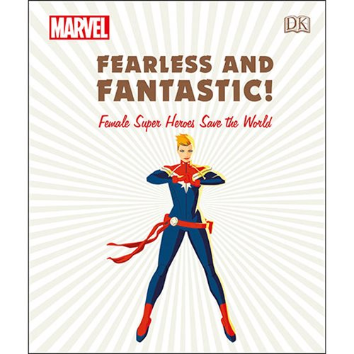 Marvel Fearless and Fantastic! Female Super Heroes Save the World Hardcover Book