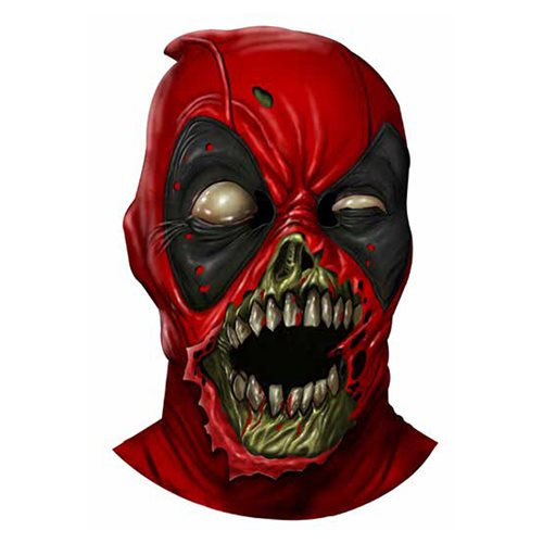 Zombie Deadpool Adult Latex Mask