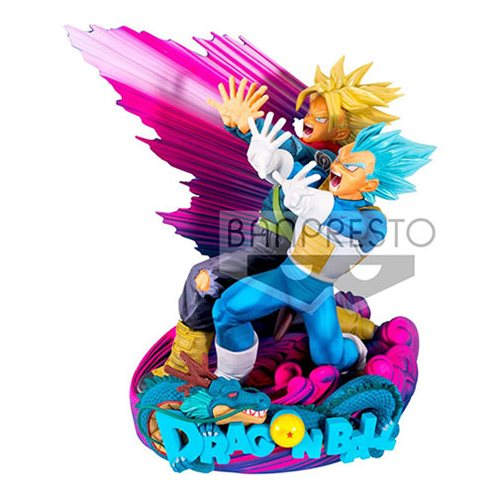 Dragon Ball Super Super Master Stars Diorama II Vegeta and Trunks Brush Statue