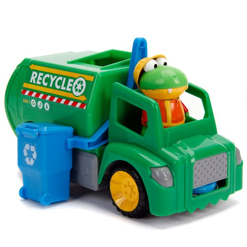 Ryan's World Gus with Recycling Truck
