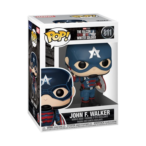The Falcon and Winter Soldier John F. Walker Pop! Vinyl Figure