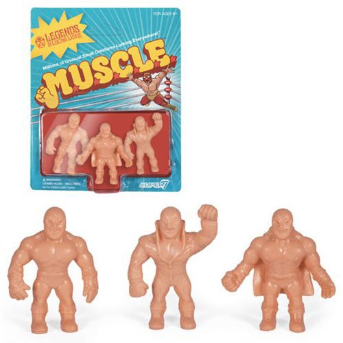 Legends of Lucha Libre M.U.S.C.L.E. Mini-Figures Pack B