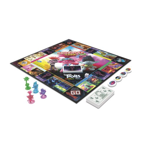Trolls Monopoly Jr. Game