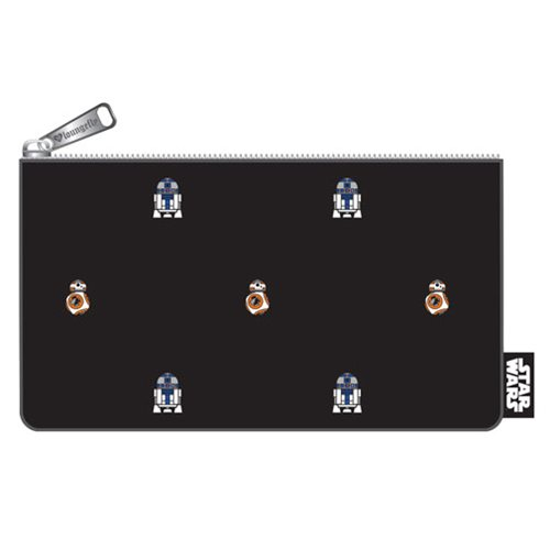 Star Wars BB-8 and R2-D2 Print Pencil Case