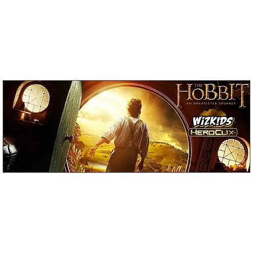 The Hobbit An Unexpected Journey HeroClix Game Display Case
