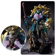 Monster Hunter Evil God Awakening Zinogre Tamashii Mix Monster SH Figuarts Action Figure