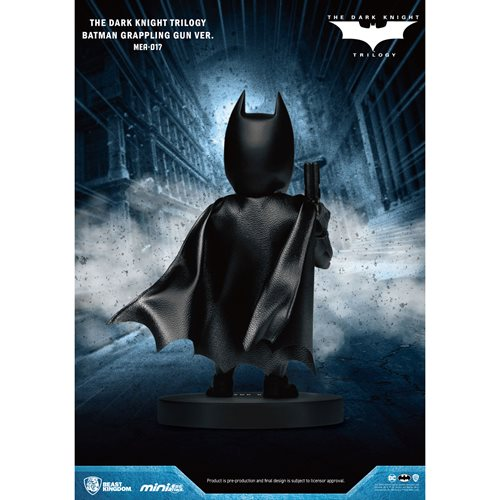 Dark Knight Trilogy Batman with Grappling Gun MEA-017 Figure - Previews Exclusive
