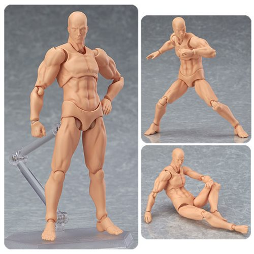 Male Flesh Color Figma Archetype Next Action Figure