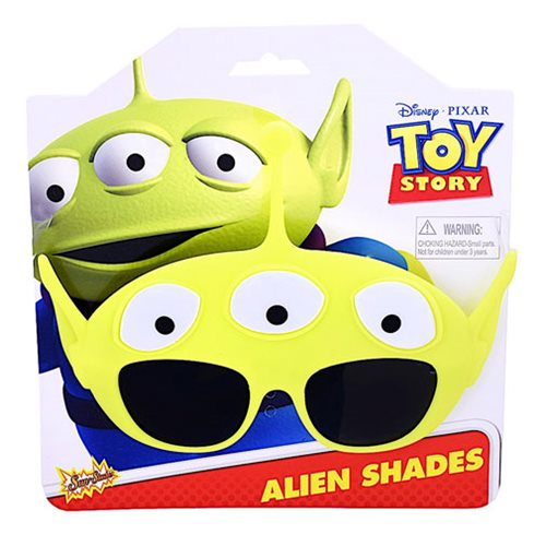 Toy Story Little Green Alien Sun-Staches