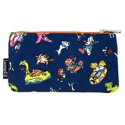Nickelodeon Retro Characters Nylon Pouch