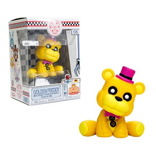 Five Nights at Freddy's Golden Freddy Vinyl Figure