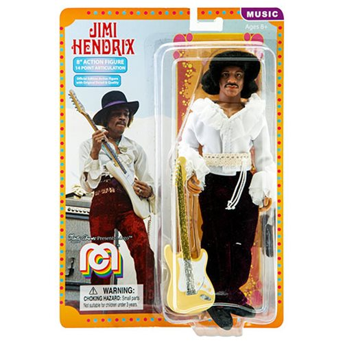 Jimi Hendrix Mego 8-Inch Retro Action Figure