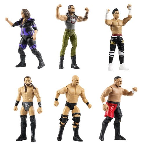 WWE Basic Figure Series 79 Action Figure Set